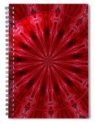 Roses Kaleidoscope Under Glass 26 Spiral Notebook