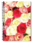 Roses Of Love Spiral Notebook