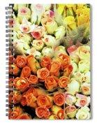 Roses 01 Spiral Notebook