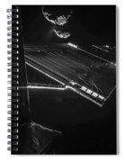 Rosettas Philae Lander At Comet 67pc-g Spiral Notebook