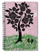 Rosey Posey Spiral Notebook