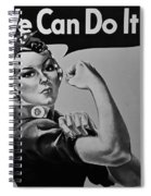 Rosie In Black And White1 Spiral Notebook