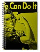 Rosie In Yellow Spiral Notebook