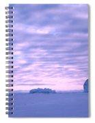 Ross-iceshelf-g.punt-2 Spiral Notebook