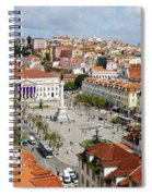 Rossio Square Spiral Notebook