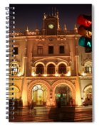 Rossio Train Station Spiral Notebook