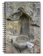 Rosslyn Chapel Basin Spiral Notebook
