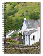 Rosthwaite In The Valley Of Borrowdale Lake District Spiral Notebook