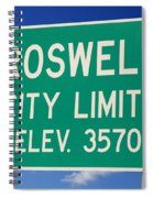 Roswell New Mexico Spiral Notebook
