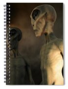 Roswell Visiting Hour Spiral Notebook