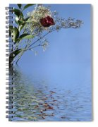 Rosy Reflection - Left Side Spiral Notebook