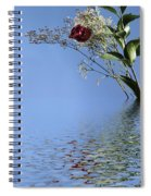 Rosy Reflection - Right Side Spiral Notebook