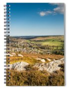 Rothbury Town From The Terraces Spiral Notebook
