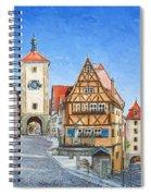 Rothenburg Germany Spiral Notebook