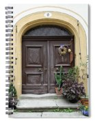 Rothenburg Ob Der Tauber Door  Spiral Notebook