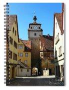 Rothenburg Ob Der Tauber Spiral Notebook