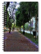 Rothschild Boulevard Spiral Notebook