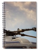Rotor Navy Helicopter. Spiral Notebook