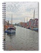 Rotterdam Canal Spiral Notebook