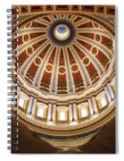 Rotunda Dome On Wings Spiral Notebook