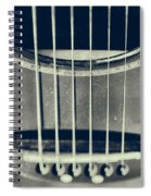 Rough Acoustic  Spiral Notebook