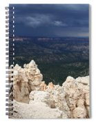 Rough Skys Over Bryce Canyon Spiral Notebook
