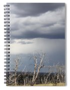 Rough Skys Over Colorado Plateau Spiral Notebook