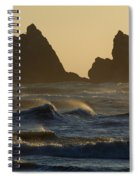 Rough Surf Spiral Notebook
