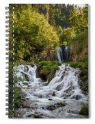 Roughlock Falls South Dakota Spiral Notebook