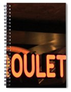 Roulette Spiral Notebook