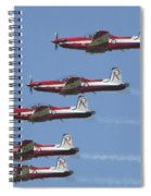 Roulettes In Tight Formation Spiral Notebook