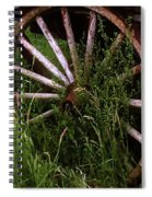 Round And Rusty Spiral Notebook
