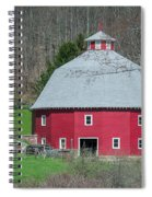 Round Barn Spiral Notebook