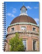 Round Lutheran Church In Amsterdam Spiral Notebook