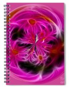Round Pink And Pretty By Kaye Menner Spiral Notebook
