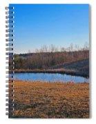 Round Pond Spiral Notebook