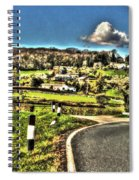 Round The Bend Spiral Notebook