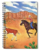 Round Up Spiral Notebook