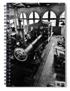 Roundhouse Working No. 3 Spiral Notebook