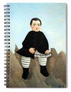 Rousseau's Boy On The Rocks Spiral Notebook