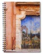 Roussillon Door Spiral Notebook