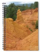 Roussillon Ochres Pigments Rock Spiral Notebook