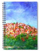 Roussillon Village Spiral Notebook