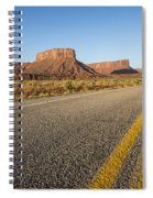 Route 128 Near Castle Valley Spiral Notebook
