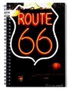 Route 66 2 Spiral Notebook