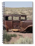 Route 66 - Abandoned Car Spiral Notebook