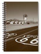 Route 66 - Amboy California Spiral Notebook