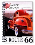 Route 66 America's Highway Spiral Notebook