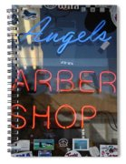 Route 66 - Angel's Barber Shop Spiral Notebook