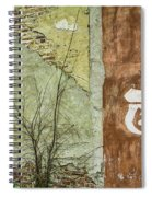 Route 66 Brick And Mortar Spiral Notebook